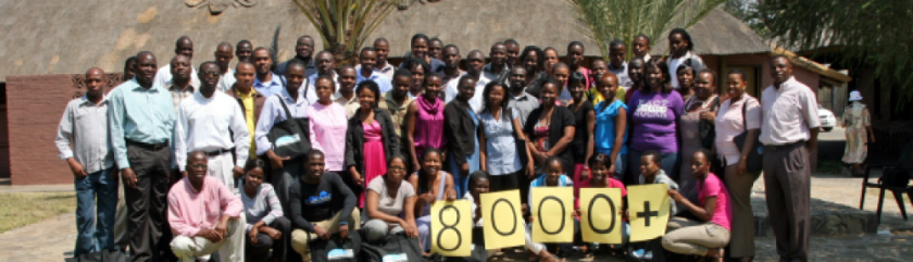 KITSO AIDS Training Program reaches its 8000th person trained