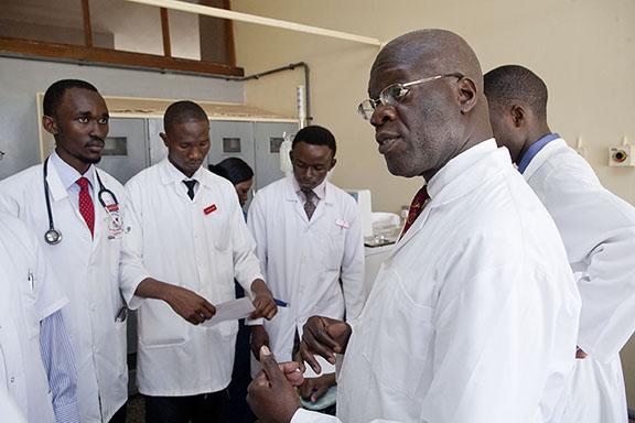 mepi-uganda-Dr. Nelson Sewankambo