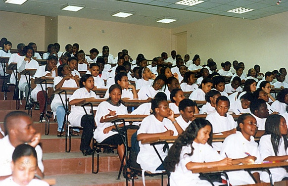 Medical School Classroom in Mozambique