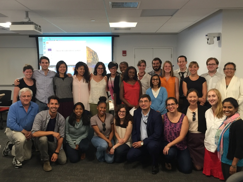 Doctor of Public Health Class, 2015,